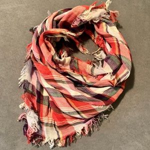 • ae plaid square scarf •
